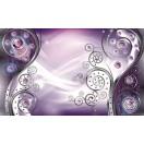 Fotótapéta absztrakció modern stílus lila 3D