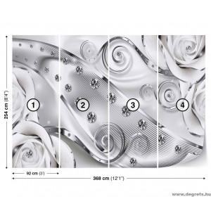 Fotótapéta absztrakció Modern 3D Művészet XL