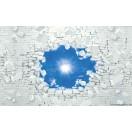 Fotótapéta kék ég 3D L