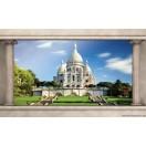 Fotótapéta Párizs  A szent  szív