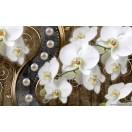Fotótapéta absztrakció orchideák 7 3D L