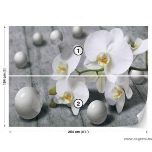 Fotótapéta Absztrakció Orchidea 1 3D