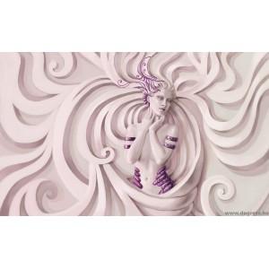 Fotótapéta Istennő lila XL