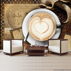 Fotótapéta Kávé Londonban