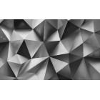 Fotótapéta absztrakció ezüst 2 3D L