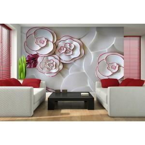 Fotótapéta absztrakció rózsák 1 3D XL