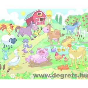 Fotótapéta Állatok a farmon