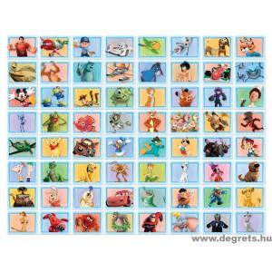 Collage Disney 64 Darab - kék