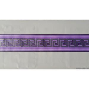 Frieze Versace - lila - ezüst