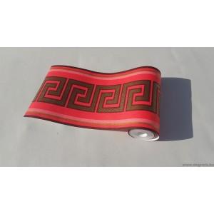Frieze Versace - piros