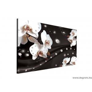 Vászonkép absztrakció orchideák 2 3D L