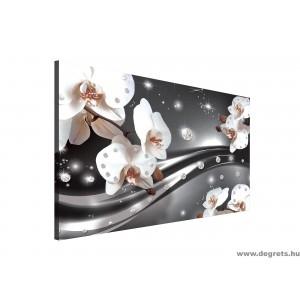 Vászonkép absztrakció orchideák 3 3D L