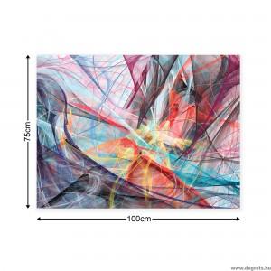 Vászonkép absztrakció 1 3D