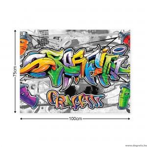 Vászonkép Graffiti L