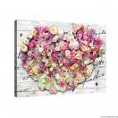 Vászonkép Szerelem  - Virágok 1