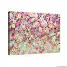 Vászonkép Virágos fal  3D