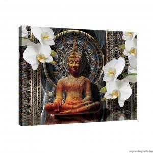 Vászonkép Buddha L