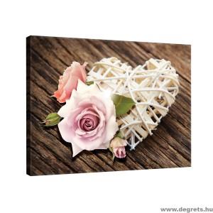 Vászonkép Szerelem  - Virágok 2 L