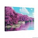 Vászonkép lila Varázslat L