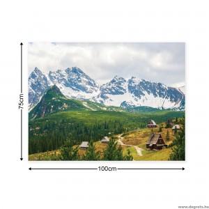 Vászonkép Alpok