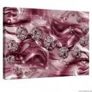 Vászonkép lila gyémánt 3D
