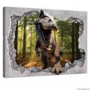 Vászonkép Dinoszaurusz 3D