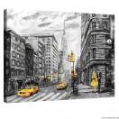 Vászonkép New York Művészet L