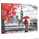 Vászonkép London Művészet L