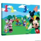 Vászonkép Mickey Egér  és barátai