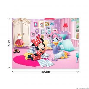 Vászonkép Mini és Daisy 1 L