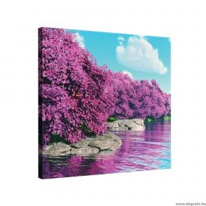 Vászonkép lila Varázslat M