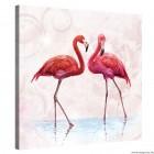 Vászonkép Flamingó 1