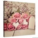 Vászonkép rózsák románc