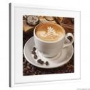 Vászonkép Reggeli kávé