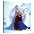 Vászonkép Elsa és Anna 1