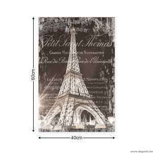 Vászonkép Eiffel Torony 3