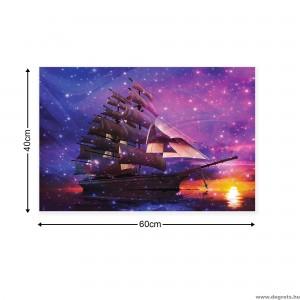 Vászonkép Hajó S
