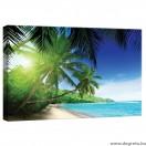 Vászonkép Maldív- szigetek 3