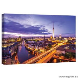 Vászonkép Berlin éjszaka