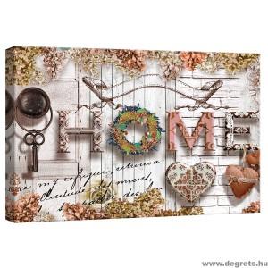Vászonkép Hangulatos otthon  bézs S