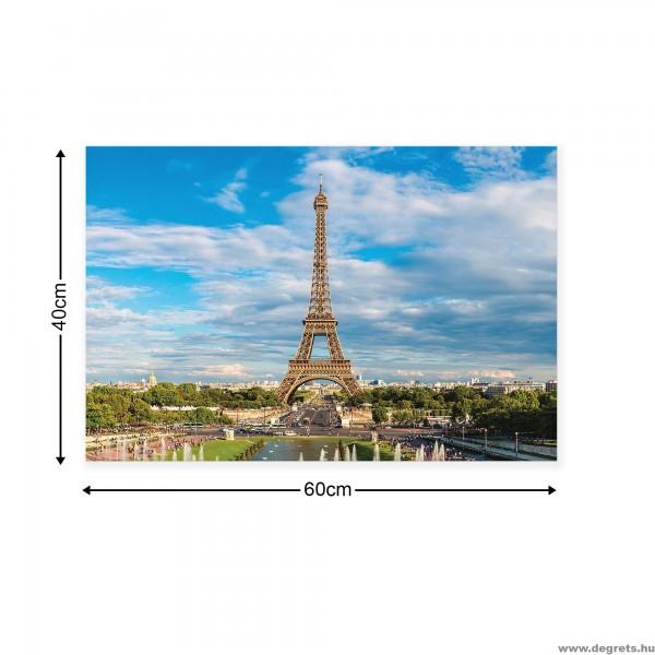 ᐉ Vászonkép Eiffel Torony 2 S — Degrets
