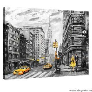 Vászonkép New York Művészet S