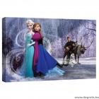 Vászonkép Elsa és Anna 2