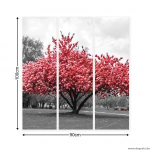 Vászonkép szett 3 darabos rózsaszín color