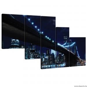 Vászonkép szett 5 darabos Brooklyn Híd 4