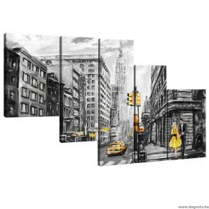 Vászonkép szett 5 darabos New York Art