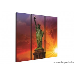 Vászonkép szett 3 darabos Szabadságszobor