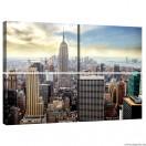 Vászonkép szett 4  darabos New York 1