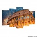 Vászonkép szett 5 darabos A római kolosszeum