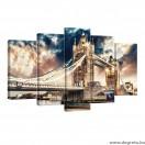 Vászonkép szett 5 darabos London híd